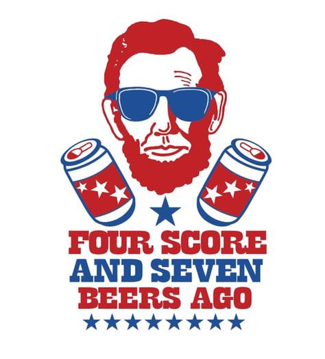 Shirt Battle: Four Score and Seven Beers Ago