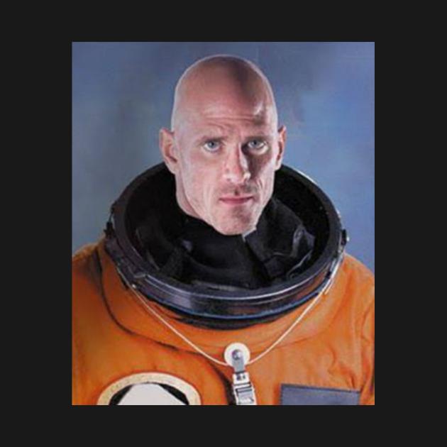 TeePublic: Johnny Sins Astronaut