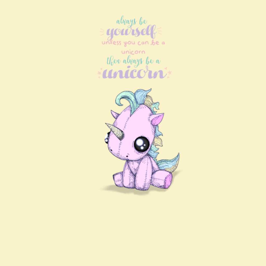 NeatoShop: Be Yourself Unicorn