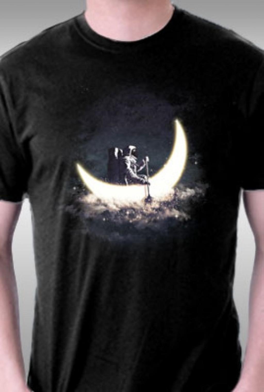 TeeFury: Moon Sailing
