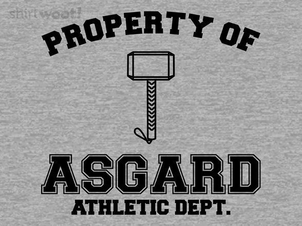 Woot!: Property of Asgard