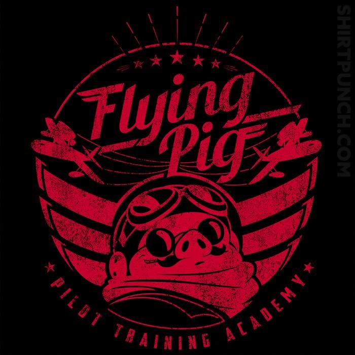 ShirtPunch: Flying Pig