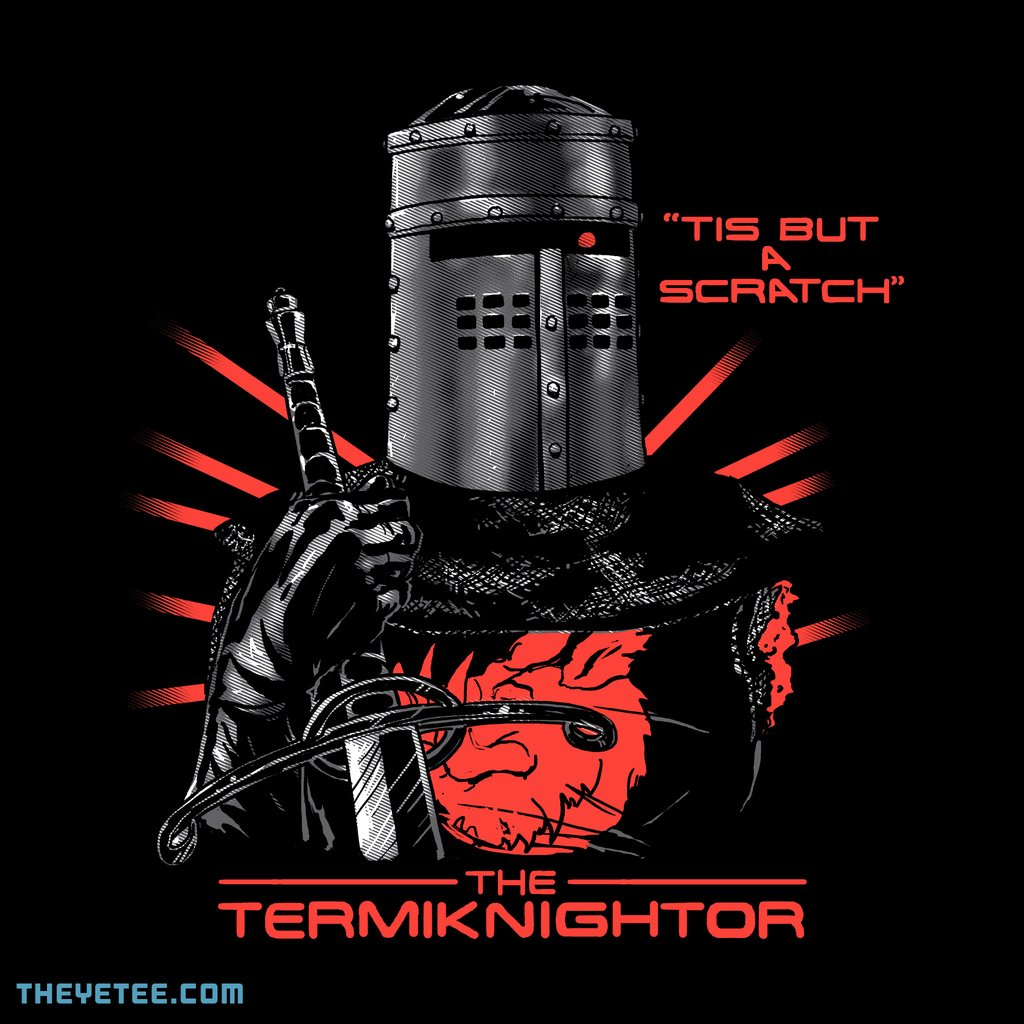 The Yetee: The TermiKnighter