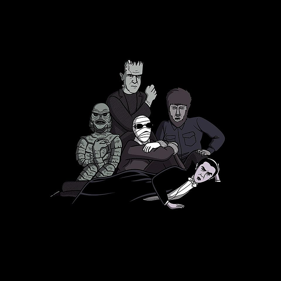 TeeFury: Monsters Club
