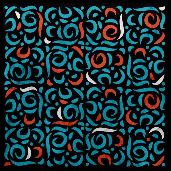NeatoShop: Arabic Organic Pattern Black