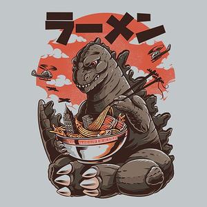 TeeFury: Kaiju Ramen