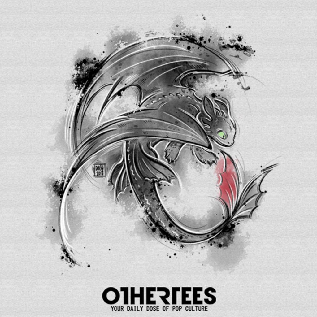 OtherTees: Sumi-e Fury