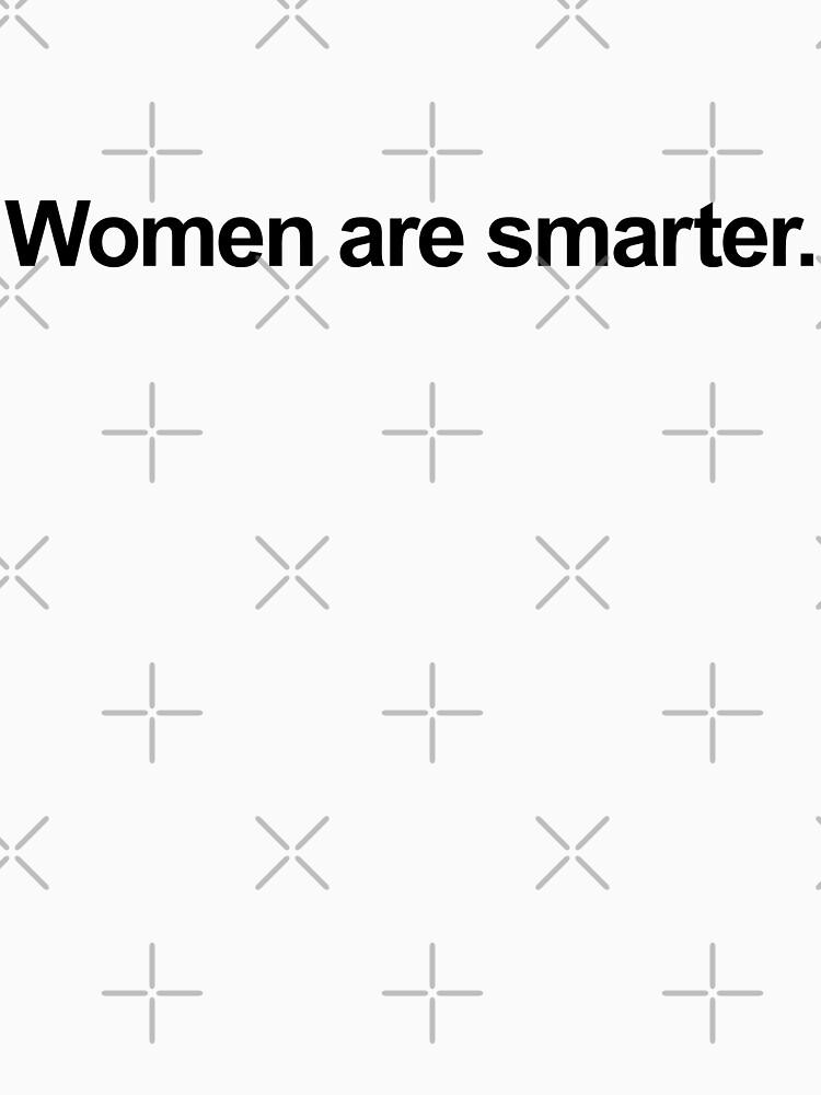 RedBubble: Women are smarter.