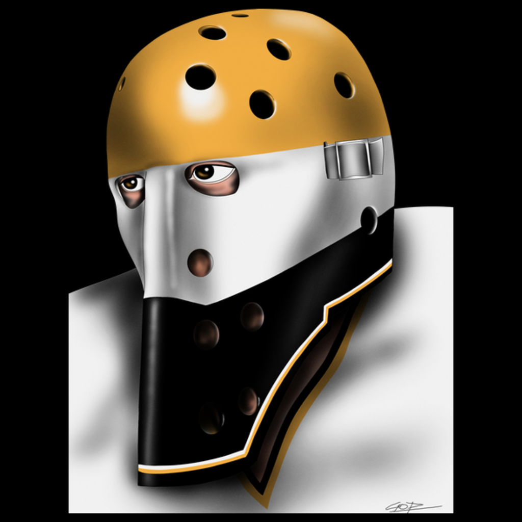 NeatoShop: Pittsburgh Vintage Hockey Goalie Mask