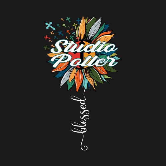 TeePublic: Blessed Studio Potter