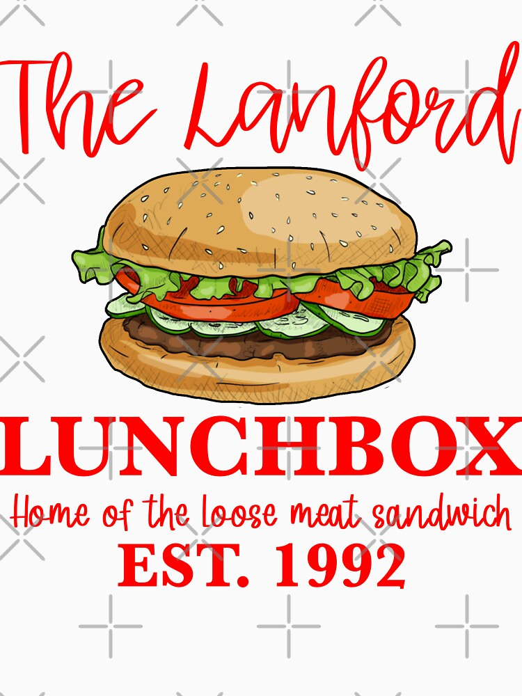 RedBubble: The lanford lunchbox funny Roseanne the conners Dan restaurant loose meat Jackie