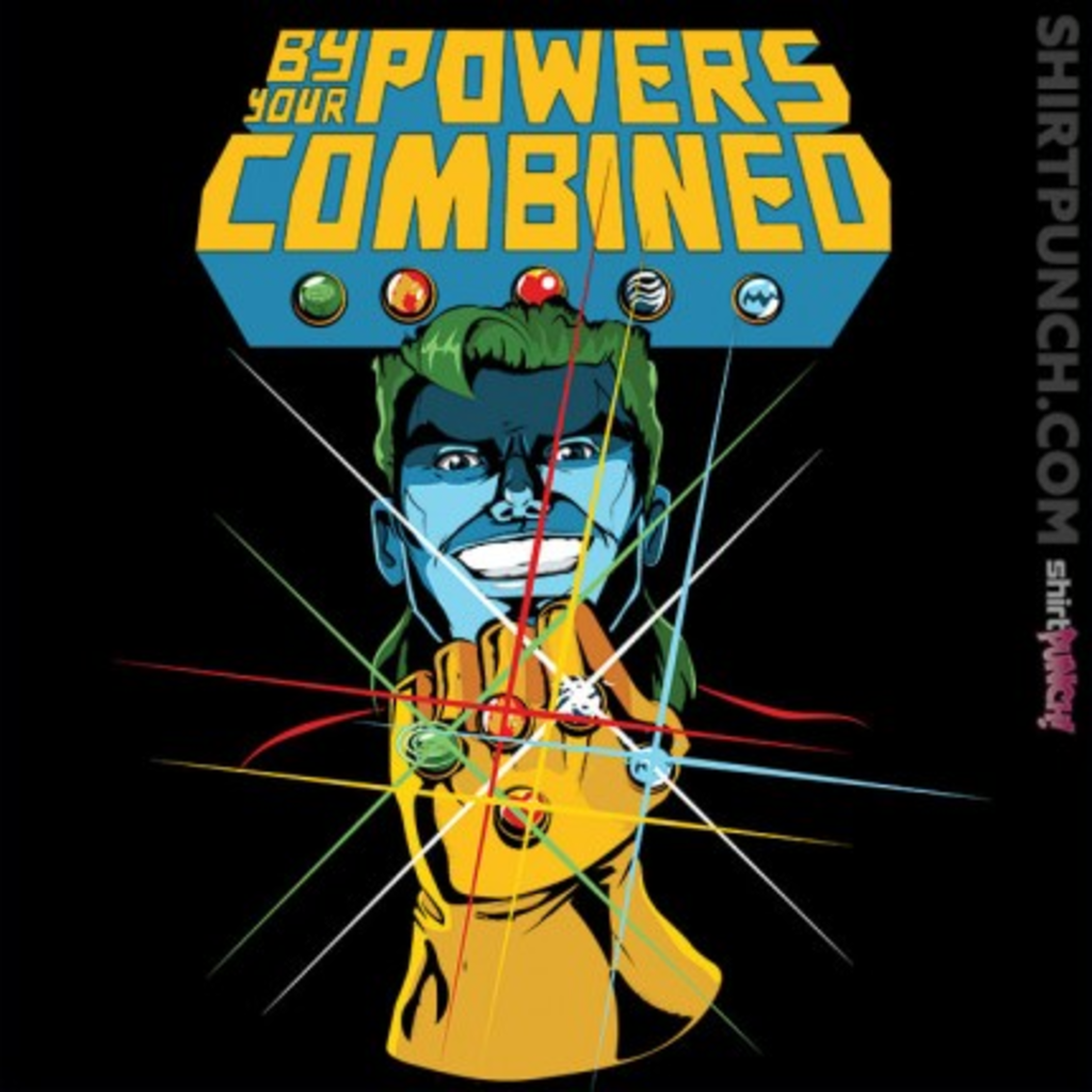 ShirtPunch: By Your Powers Combined