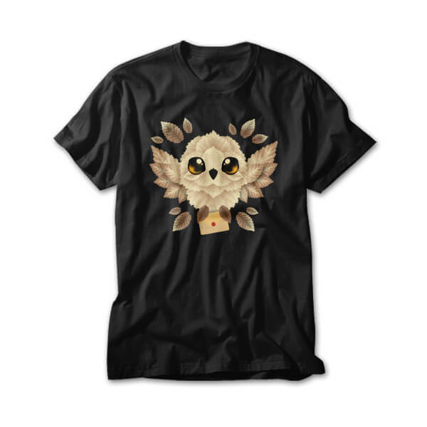 OtherTees: Owl mail of leaves