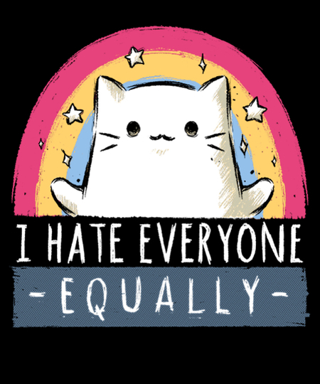 Qwertee: Hate Equally