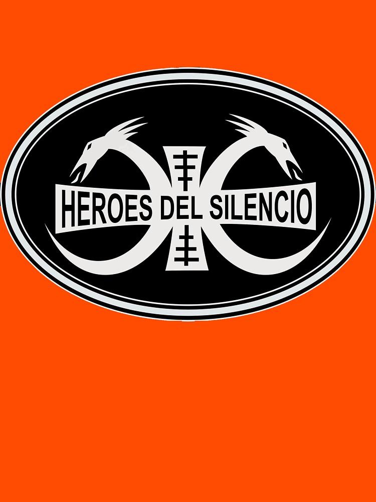 RedBubble: Heroes del Silencio