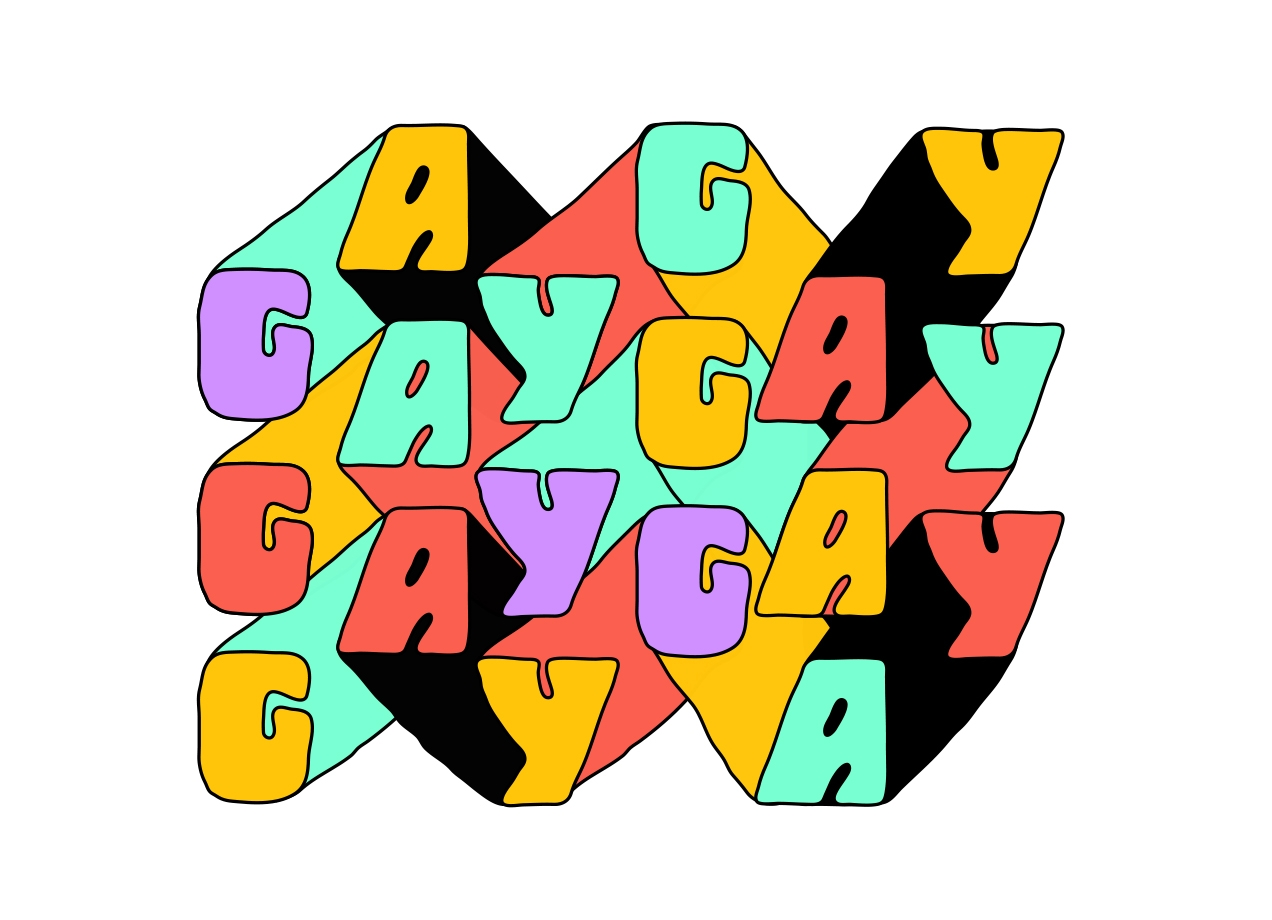 Threadless: GAY GAY GAY