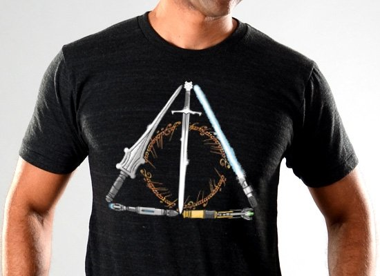 SnorgTees: Nerdy Hallows Limited Edition Tri-Blend