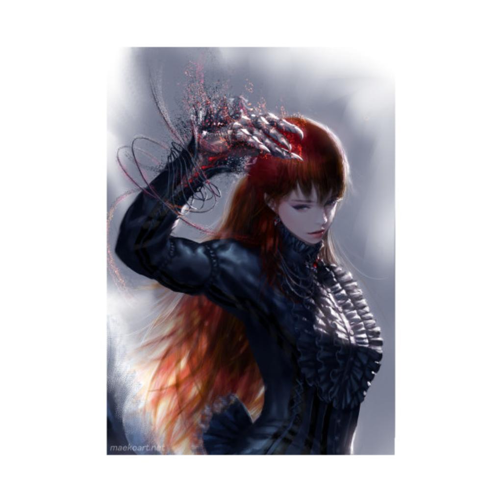 TeePublic: devil hand