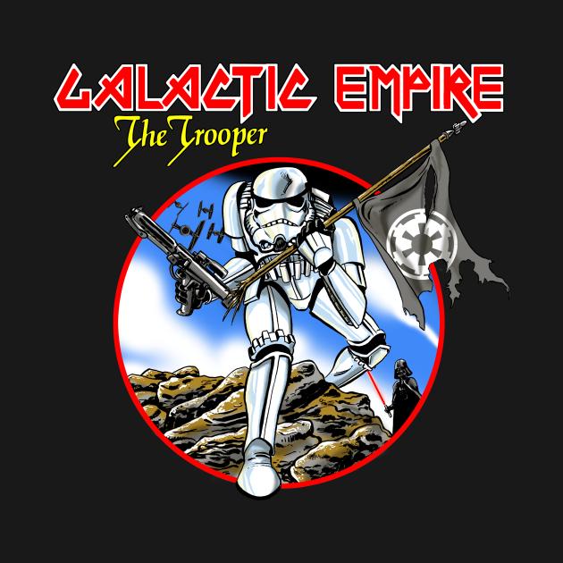 TeePublic: Galactic Empire - The Trooper