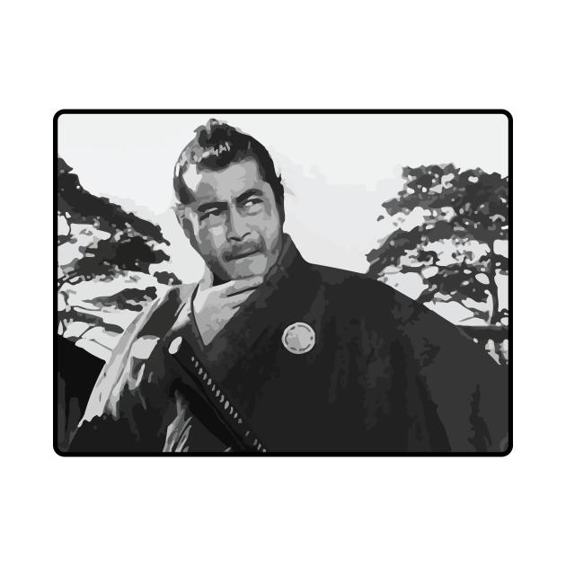 TeePublic: Sanjuro / Yojimbo- Toshiro Mifune