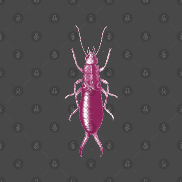 TeePublic: Follow The Earwig Pretty In Pink! Insect Collection