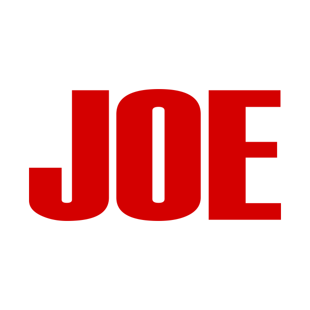 TeePublic: Joe