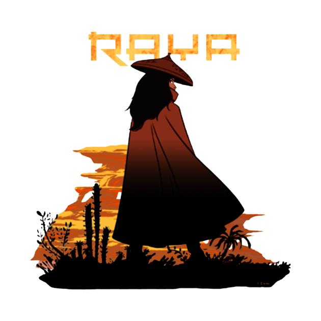 TeePublic: Raya Sunset