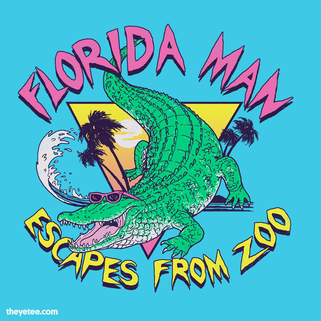 The Yetee: Florida Man Escapes From Zoo
