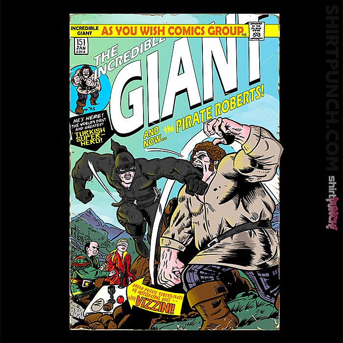 ShirtPunch: The Incredible Giant