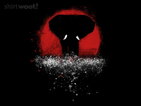 Woot!: Elephant Sunset