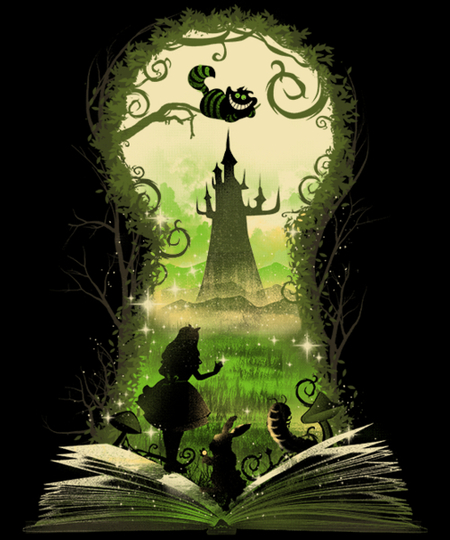 Qwertee: Book of Wonderland