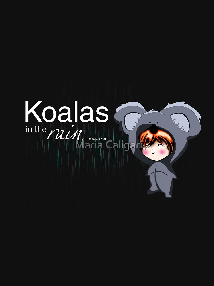 RedBubble: Koalas in the Rain