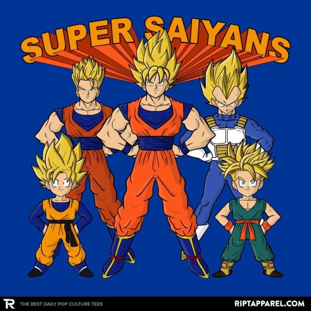 Ript: Super Saiyans