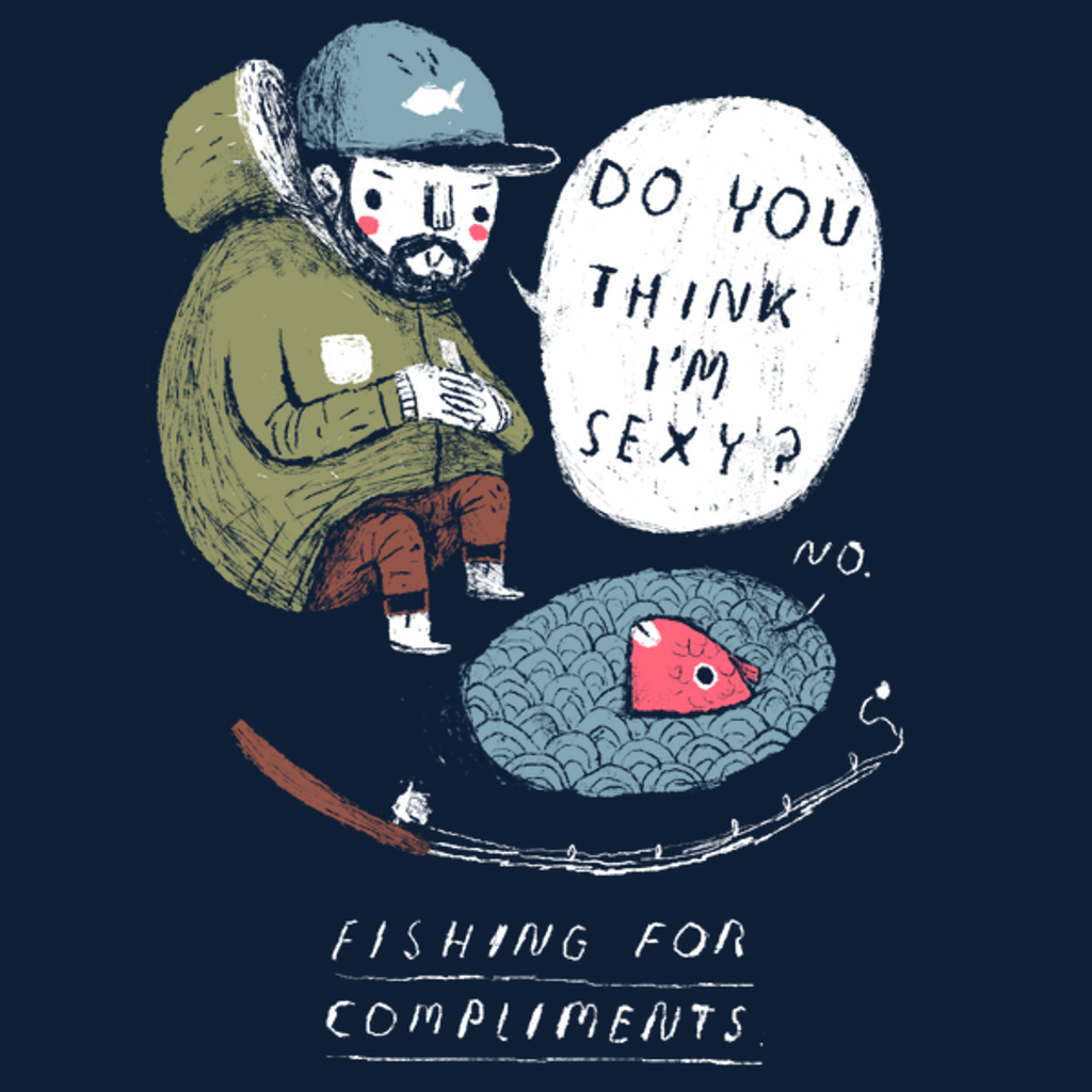 NeatoShop: fishing for compliments
