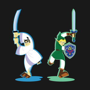 TeePublic: Heroes of Time