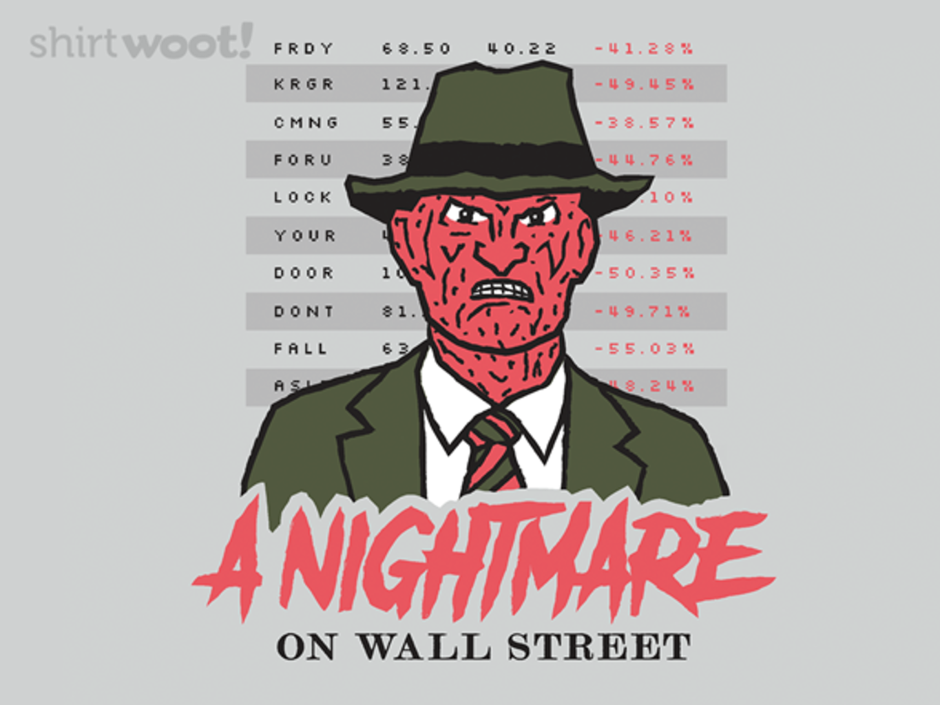 Woot!: A Nightmare on Wall Street - $15.00 + Free shipping