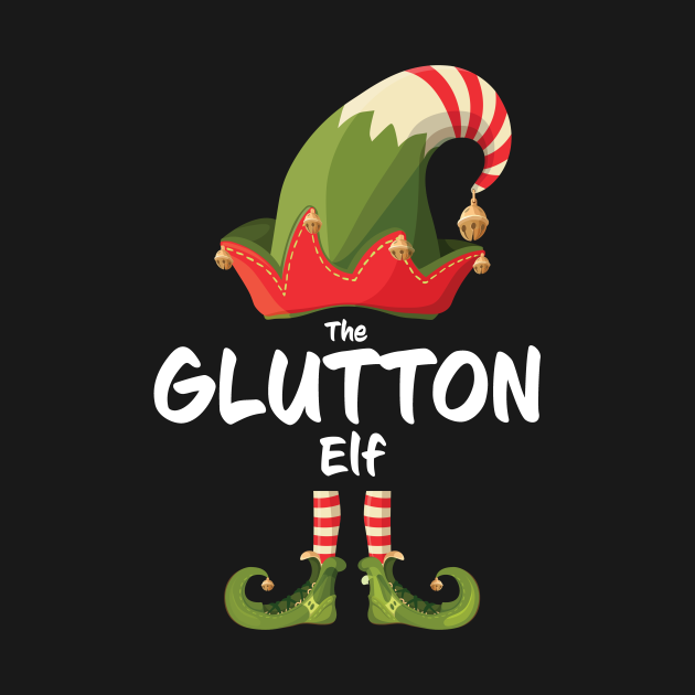 TeePublic: THE GLUTTON Elf Family Group