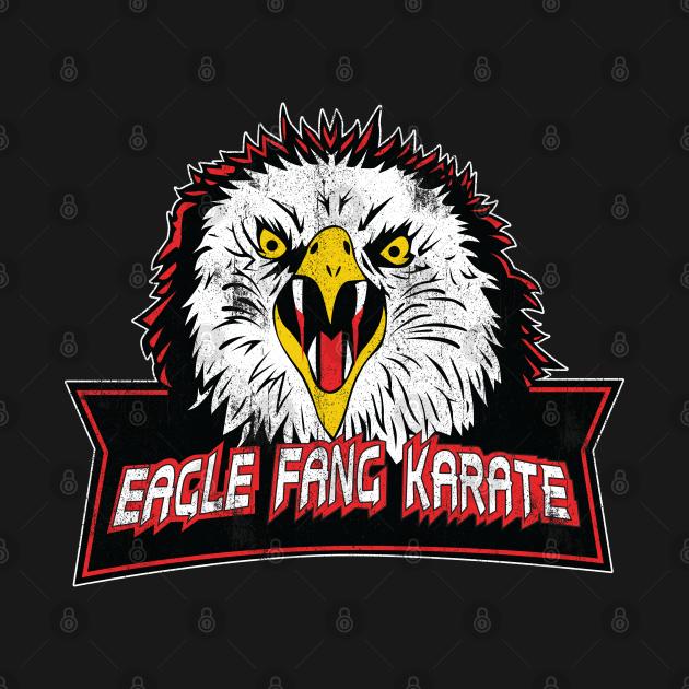TeePublic: Cobra Kai - Eagle Fang Karate Vintage Style