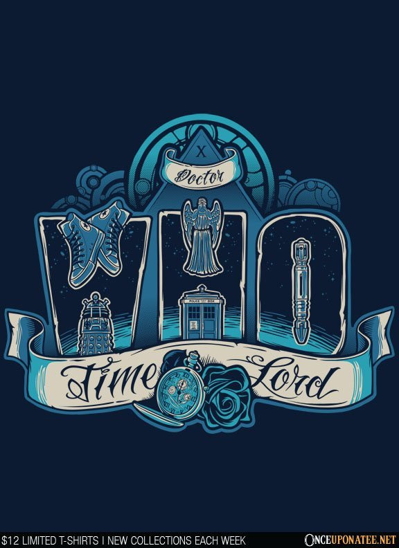 Once Upon a Tee: Infinite Who
