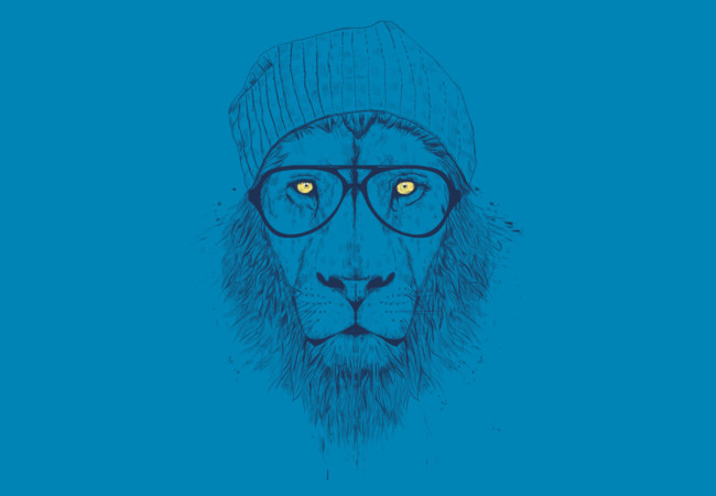 Design by Humans: Cool lion