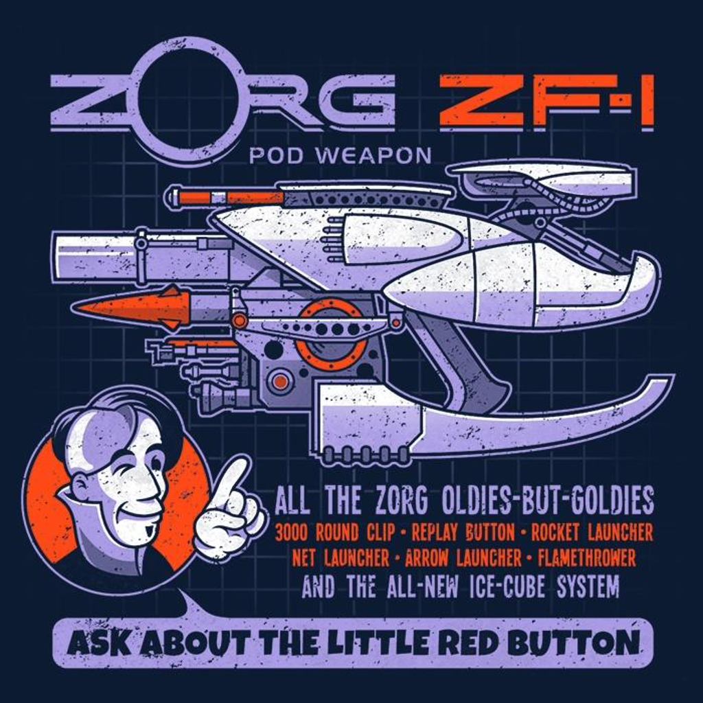 Once Upon a Tee: Ask About the Little Red Button