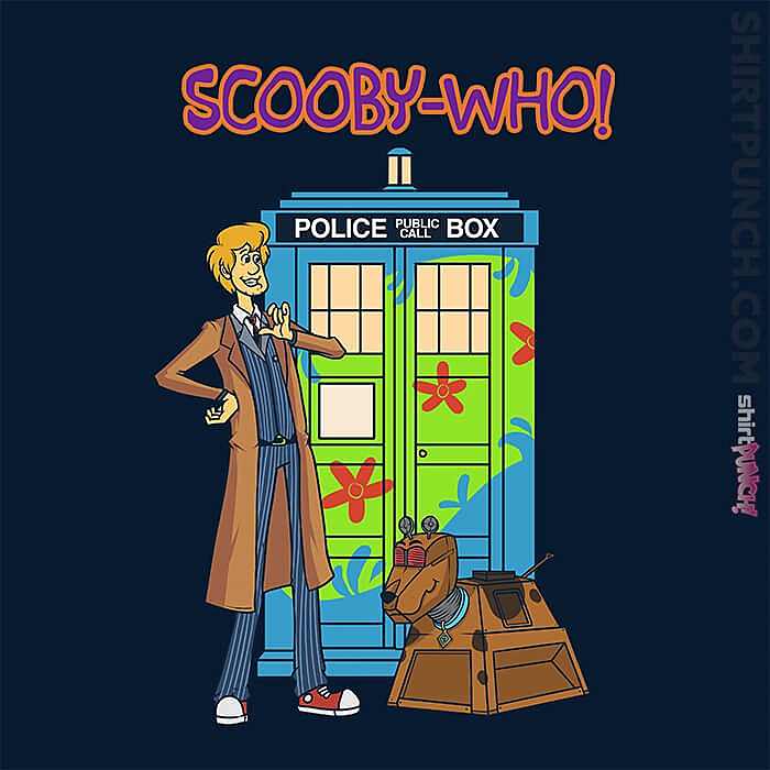 ShirtPunch: Scooby-Who