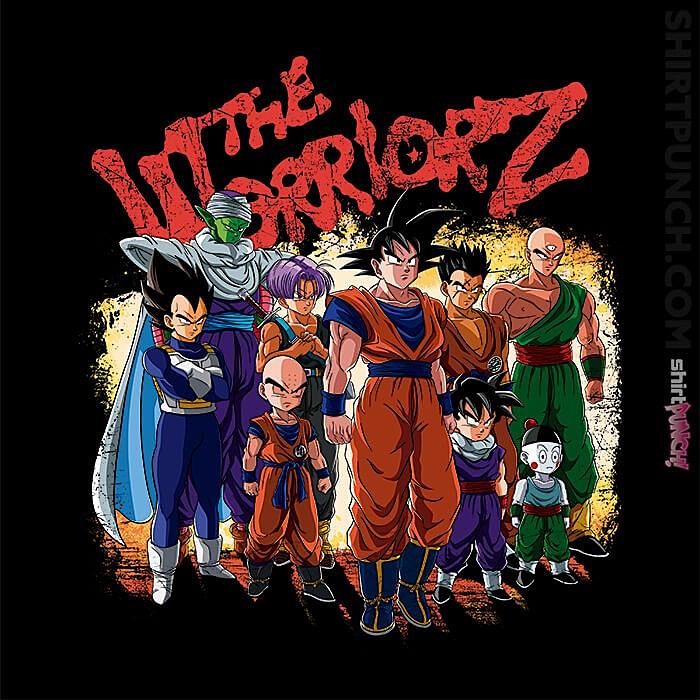 ShirtPunch: The Warriorz