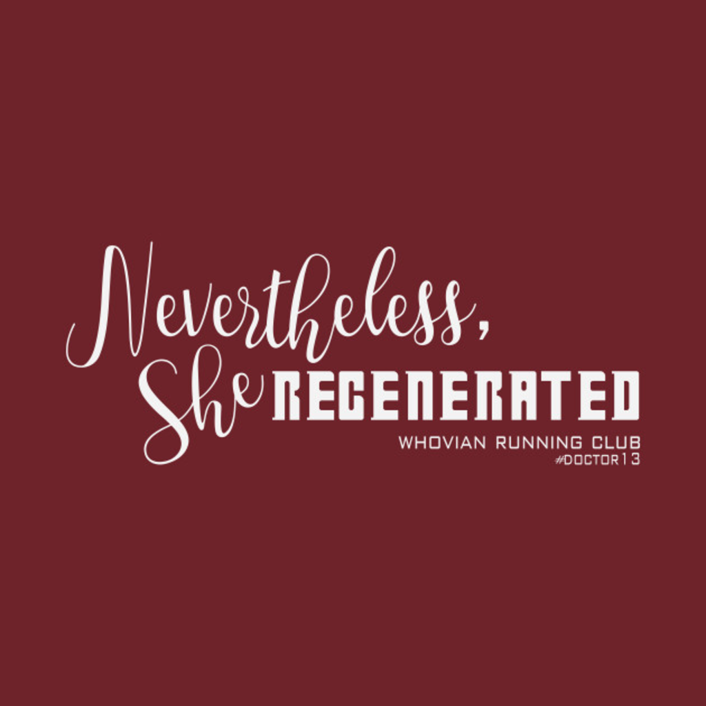 TeePublic: Nevertheless, She REGENERATED