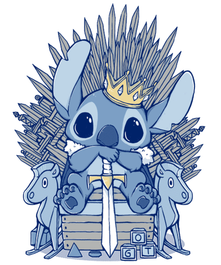 Qwertee: The Throne
