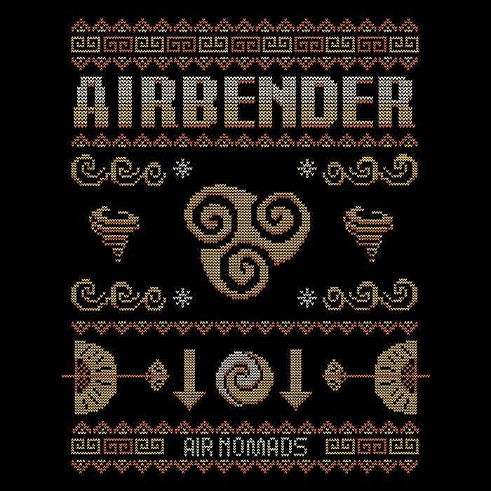 Once Upon a Tee: Air Nomad's Sweater