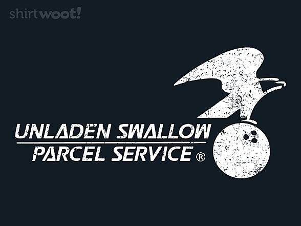 Woot!: Unladen Swallow Parcel Service Remix