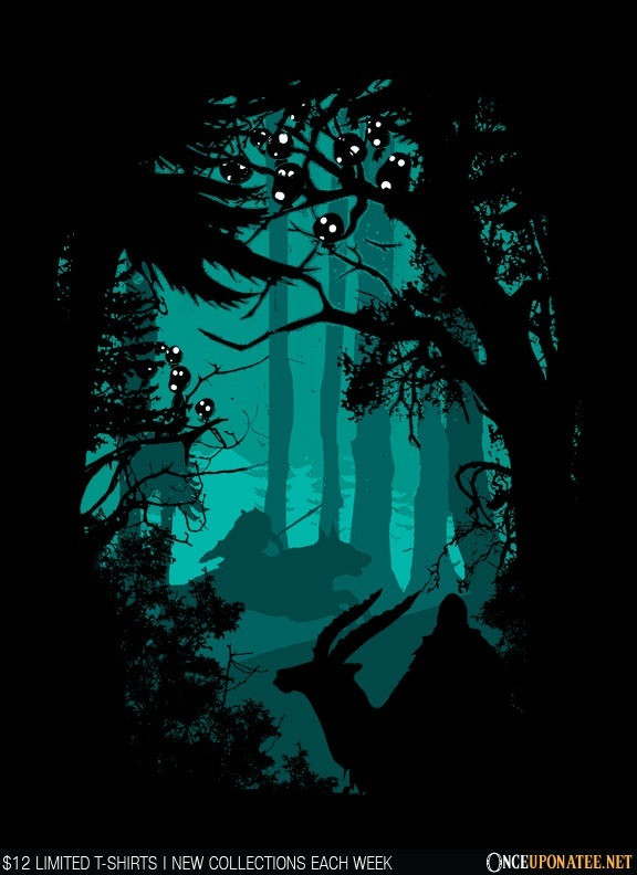 Once Upon a Tee: Spiritual Forest