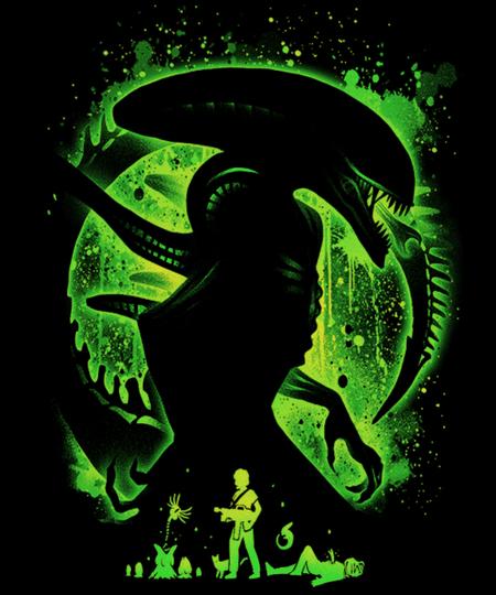Qwertee: Alien's Nightmare