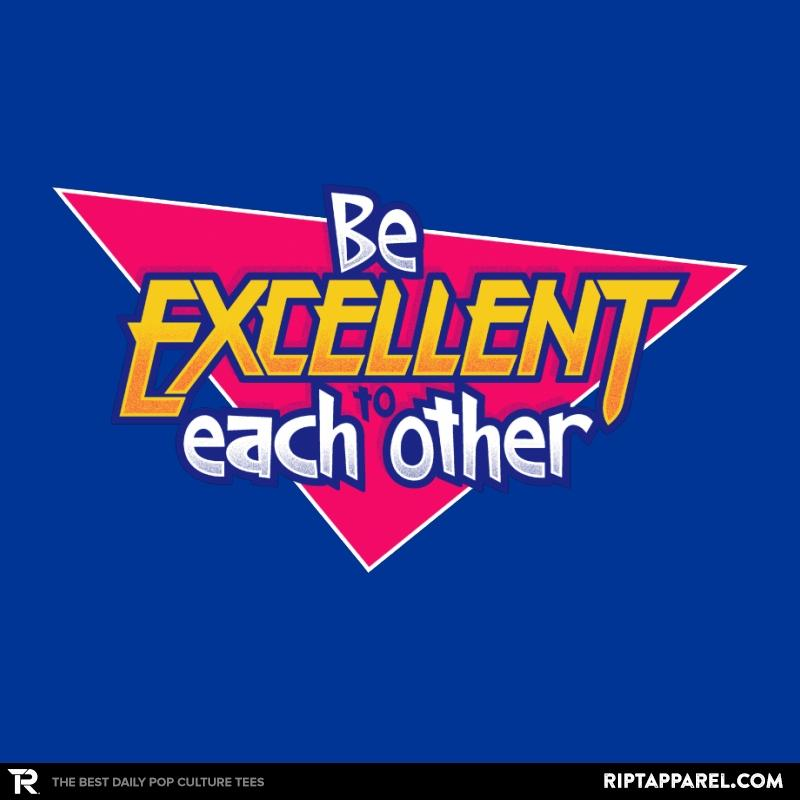 Ript: Be Excellent to Each Other